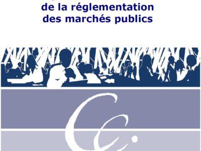 Le point sur la réforme de la réglementation des marchés publics