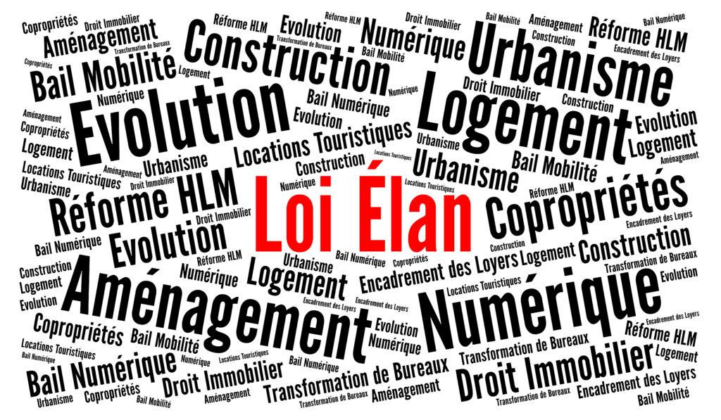 [actualité juridique] le volet aménagement et urbanisme de la loi ELAN