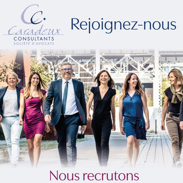 Le cabinet Caradeux recrute !